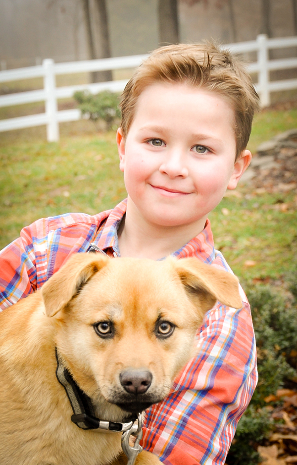 © Carmen Reese Photography| boy-and-dog-portraits, on-location-pet-photography