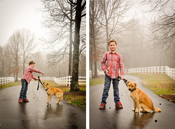 © Carmen Reese Photography| boy,puppy, on-location-family-photography
