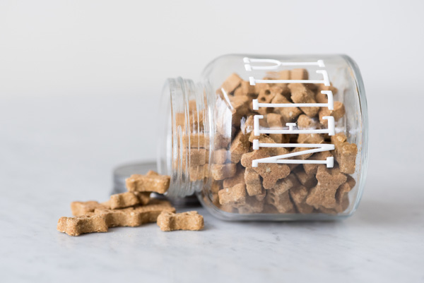 © Alice G Patterson Photography | glass treat jar, easy gift idea, dog treats