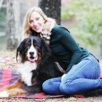 lifestyle dog photography, Bernese Mountain Dog