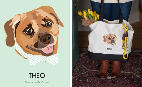 Alice-G-Patterson-Photography, product-photography, Noble-Friends-Custom-Pet-Portraits-Illustrations-
