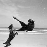 black-white-dog-series, Cape, Graeme Williams, Pringle Bay, South