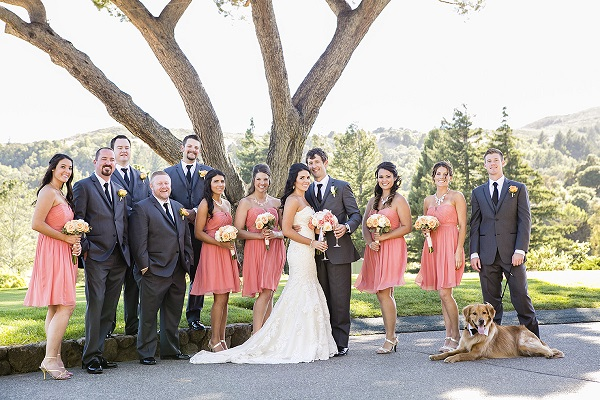 © Jules Bianchi Photography | Golden-Retriever, bridal-party