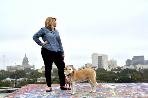 © Simone Epiphany Photography  Austin-skyline, dog-photography