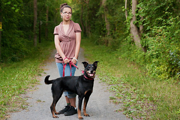 © Alice G Patterson Photography | Syracuse-senior-portraits, determining best distances for walking a dog