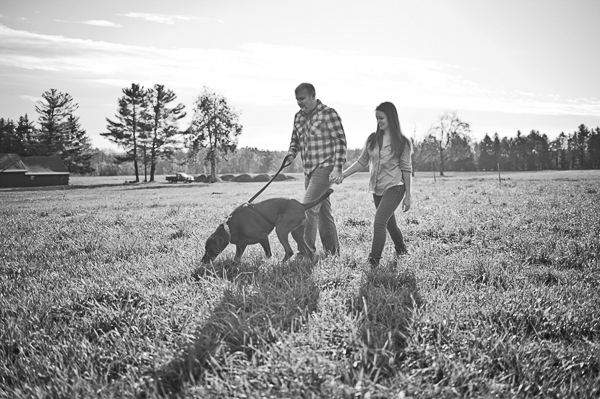 © Robyn Blasi Photography | handsome-chocolate-lab-mix, engagement photos with dog