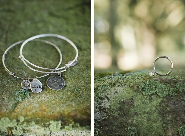 © Robyn Blasi Photography | engagement ring, dog lover jewelry