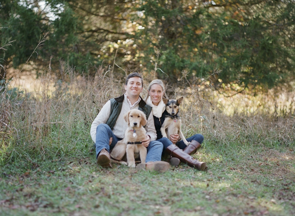 © Allison Mannella Photography |fall family-dog portraits, lifestyle pet photography, golden retriever puppy and mixed breed