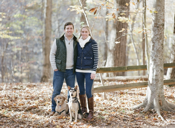© Allison Mannella Photography |autumn  family photography session with pups, on location dog photography