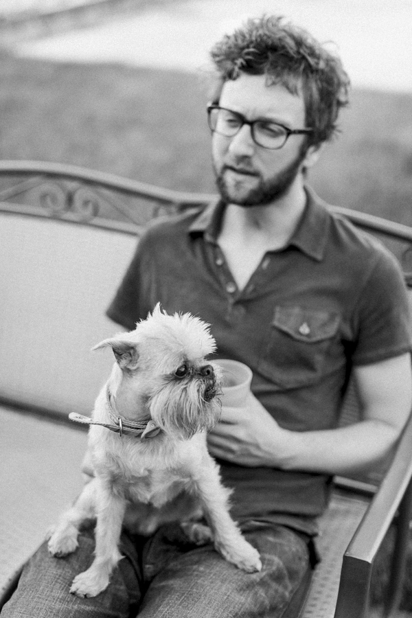 © Tiffany Tcheng Photography | Brussels Griffon, bearded friends, man's best friend, dog-person-portraits
