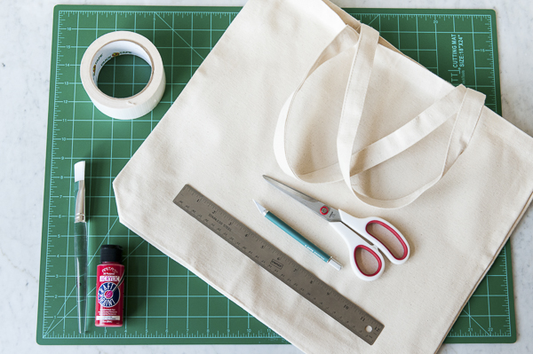 DIY First Aid Kit For Dogs-, supplies for DIY First Aid Tote Bag