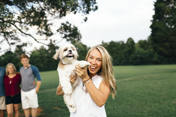 © Erin Morrison Photography | Shih Tzu Maltese, family portraits with dog, girl and her little dog, on location lifestyle photography