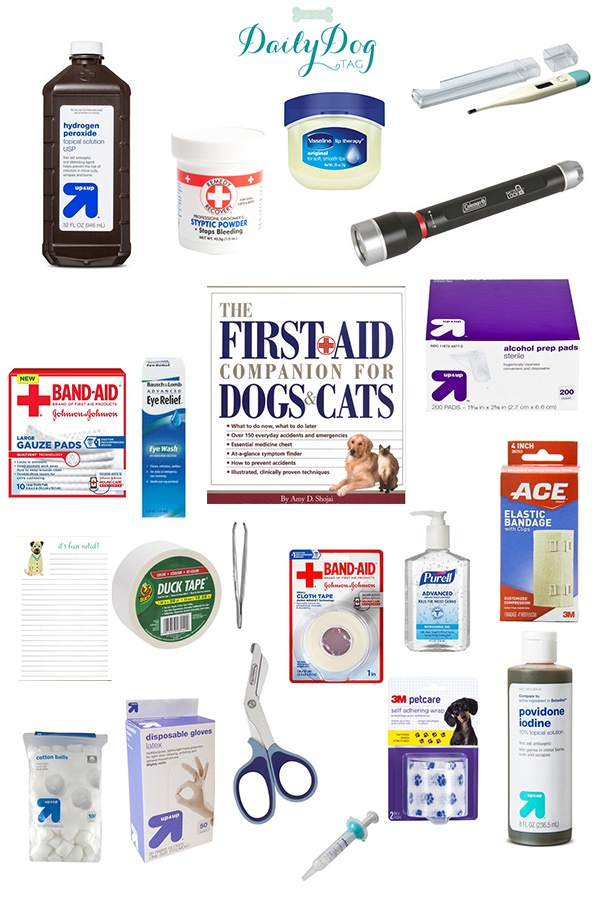 Preparing Yourself and Your Pet for Emergencies:  First Aid Kit