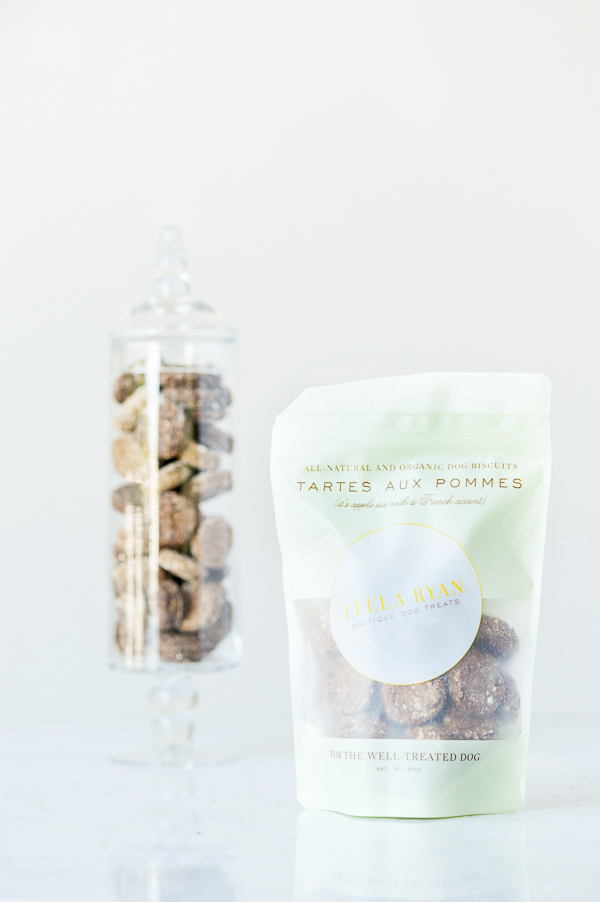 Organic Dog Biscuits in glass jar