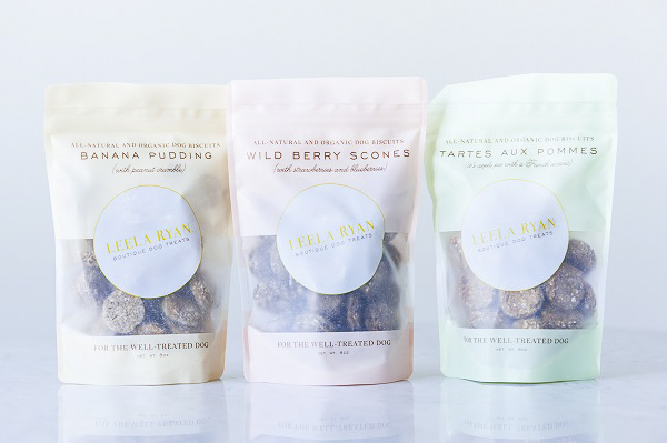 Leela Ryan Dog Treats, organic dog biscuits, the-well-treated-dog