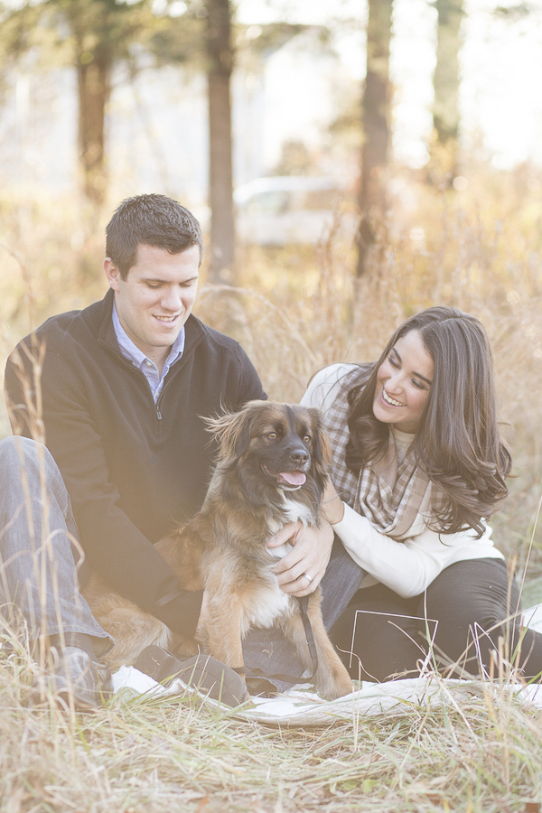 © Bethanne Arthur Photography | anniversary photos with dog, on-location-dog-photographer