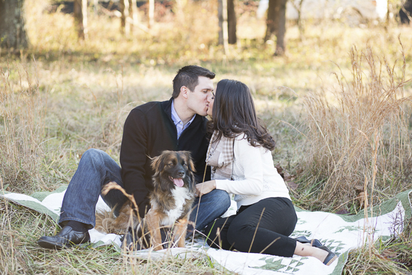 © Bethanne Arthur Photographty | first-year-anniversary-photos-with-dog, Leesburg, VA on location photography, lifestyle dog portraits