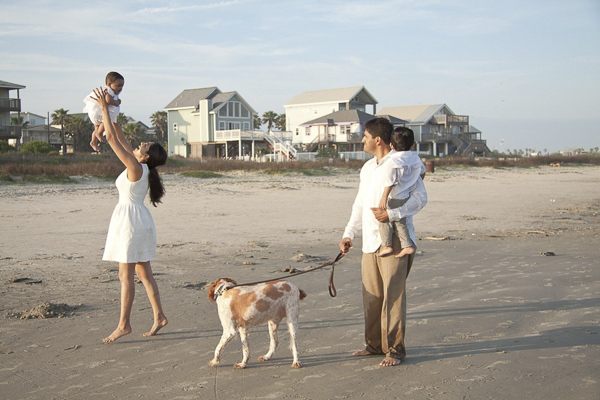 © Degrees North Images | spaniel, family photos-Galveston-Island