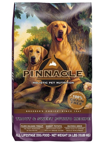 Pinnacle grain free pet food-with logo
