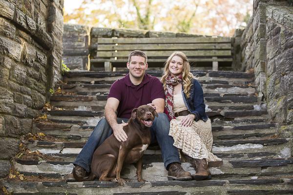 © Samantha Jay Photography | engagement portraits with dog, Media, PA