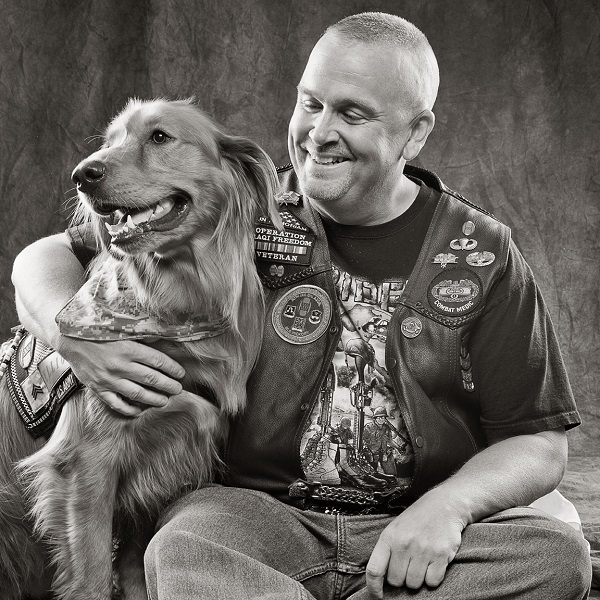 veteran, service dog, ©Simon Photographic