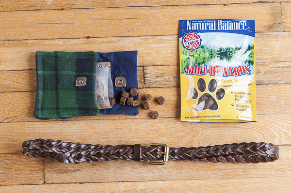 The Daily Dog Tag | DIY fabric treat bags, mad for plaid, Natural Balance treats