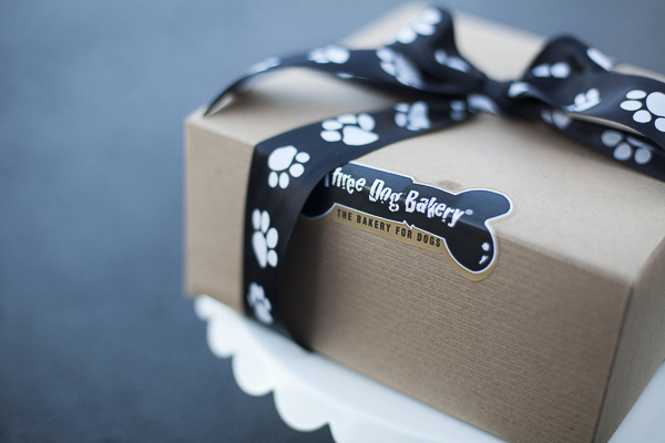 Three Dog Bakery box, © Kimberly Macdonald Photography