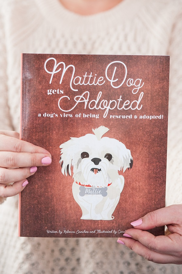 Children's book, rescue dog, MattieDog