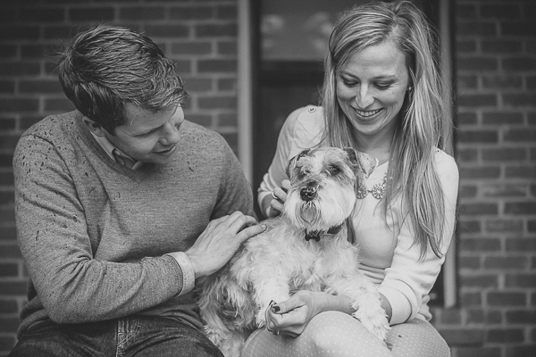 © Courtney Sargent Photography | Schnauzer and his family, on location portraits