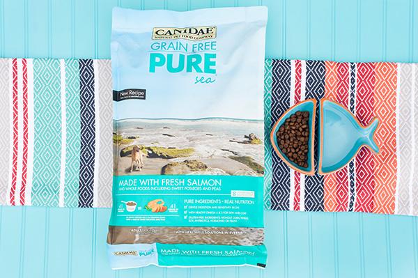 CANIDAE®-Grain-Free-Dog-Food-With-Fresh-Salmon-Daily-Dog-Tag-, premium grain-free dog food,