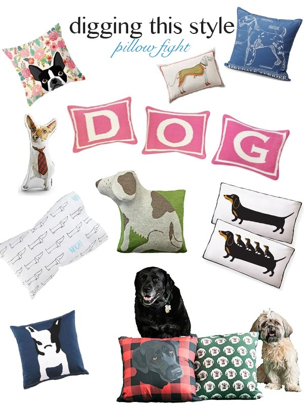 Digging-This-Style-Best-Dog-Pillows-Shopping-Gift-Guide-By-The-Daily-Dog-Tag