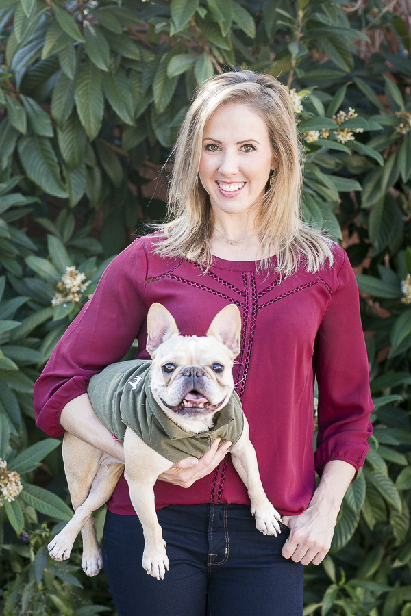 © Rachael Hall Photography | lifestyle Frenchie Photography session, girl and her dog