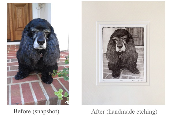 etching-before-after-jake-1, snapshot to work of art