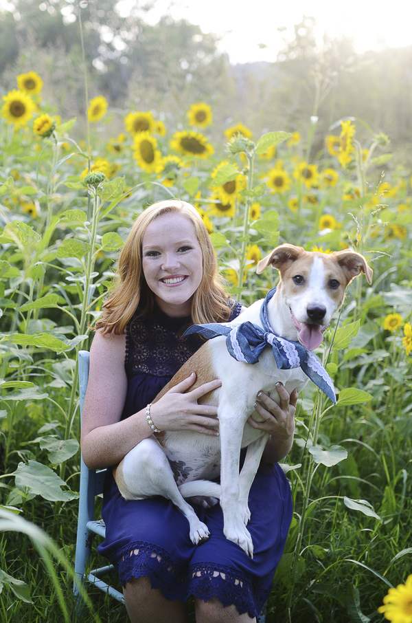 ©Jessi Pansock Photography | senior portraits with dogs