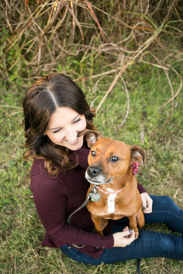 woman with pittie mix in lap, on location dog portraits mandywhitleyphotography-lifestyle-dog-photography