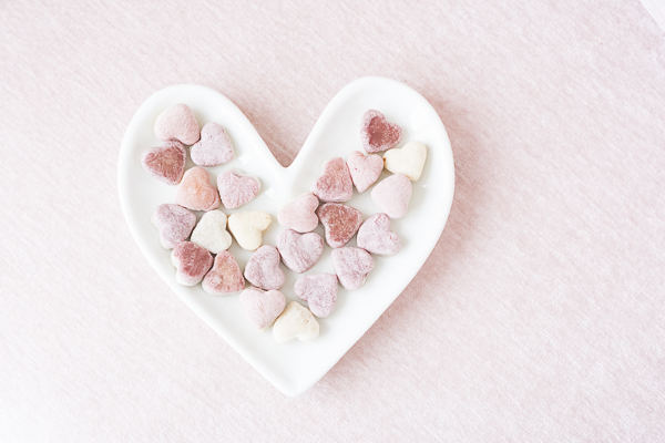 heart shaped dog treat, treat recipe