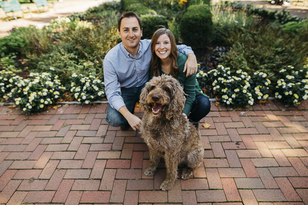 ©Swatch Studios | engagement pictures with dog