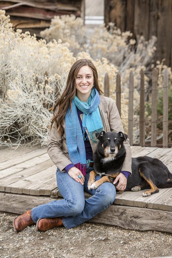 woman and dog, bffs, heart dog Maverick