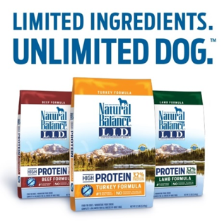 Limited Ingredient Diet, high protein dog food