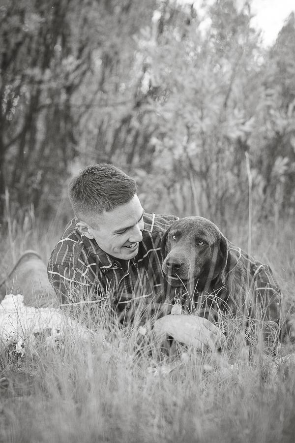 man's best friend, man and lab