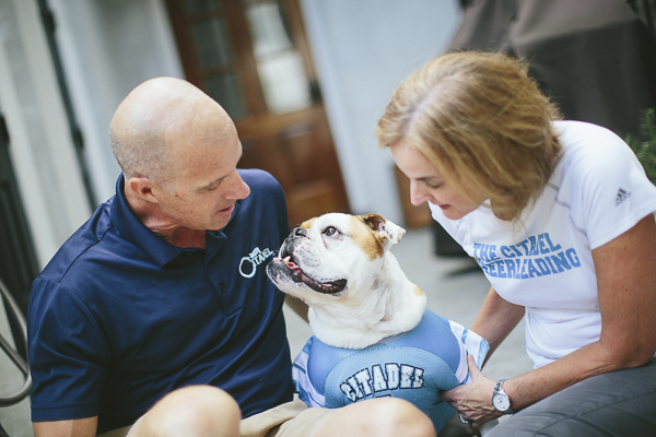 English Bulldog, Citadel Pride, bond between dog and human
