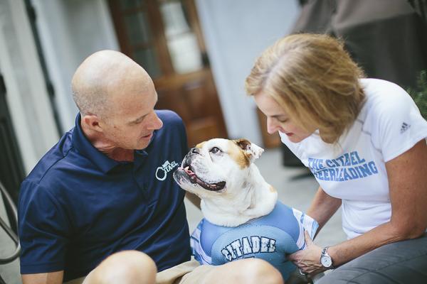 English Bulldog, Citadel Pride, bond between dog and human