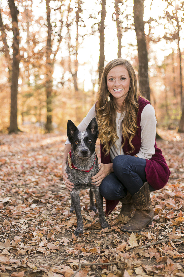 Cattle dog and woman, lifestyle photography