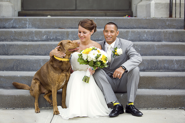 Best (Wedding) Dog:  Copper
