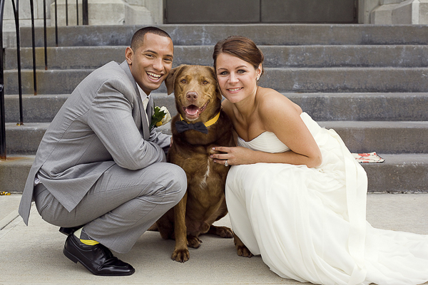 ©Kara Abbey Photography | wedding dog photography