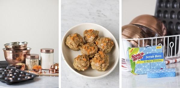 #Scrubdots, easy vegan dog treats, Scotch-Brite™ Brand