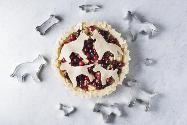 Easy and Decorative Pie Crust for Dog Lovers + A Giveaway