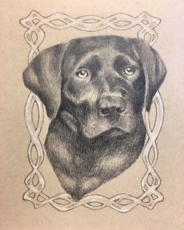 gift idea for dog lover, pet portraits