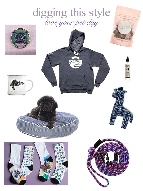 Digging This Style:  Love Your Pet Day