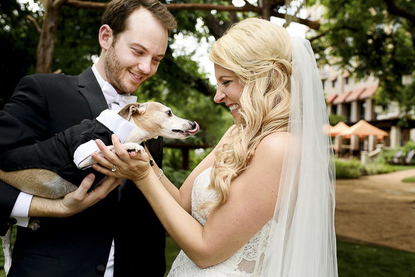 creative ways to include pets in weddings, wedding dog